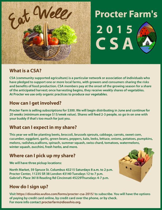 CSA flyer