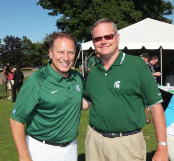 Tom Izzo and Curt Monhart