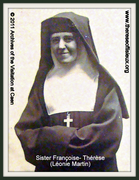 Leonie Martin, Sister Francoise-Therese