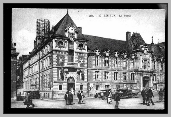 The post office at Lisieux