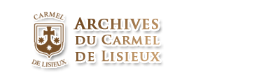 Logo of the Archives of the Carmel of Lisieux