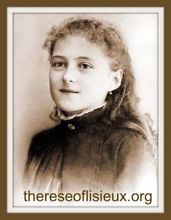 Therese at age thirteen, February 1886