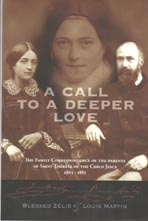 image of the book's cover with photos of Therese, Louis, and Zelie