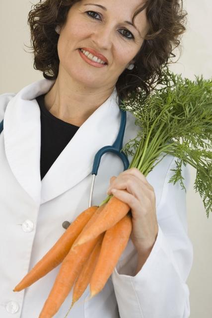 Doctor w carrots