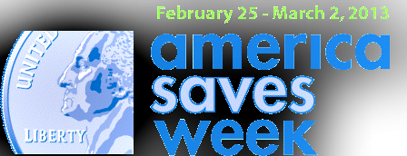 America Saves Week banner