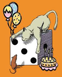 cat mouse birthday
