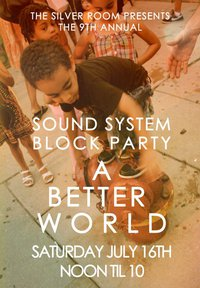 sound system block party poster