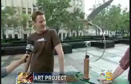 Artist from NBC clip
