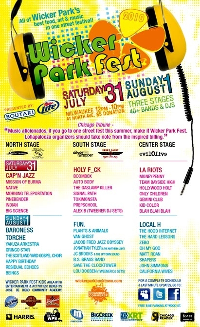 the wicker park fest poster- click on it to read details!!