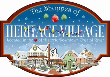 The Shoppes of Heritage Village wish you a Very Merry Christmas