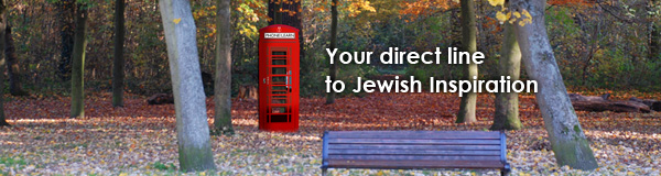 Your Direct Line to Jewish Inspiration