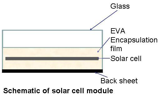 Fluorescent EVA film