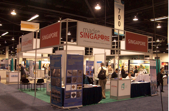 Singapore Booth at Nanotech Expo 2010
