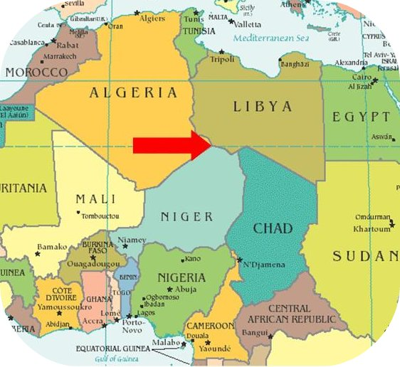 WHC Providing Emergency Asistance For Libyan Refugees Pouring Into - Where is libya