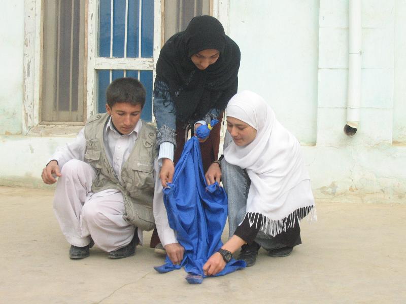 Workshop in Kunduz