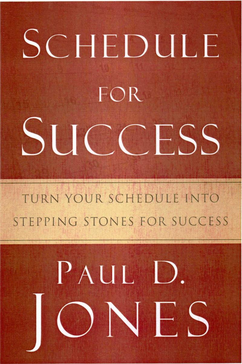 Schedule for Success Book cover