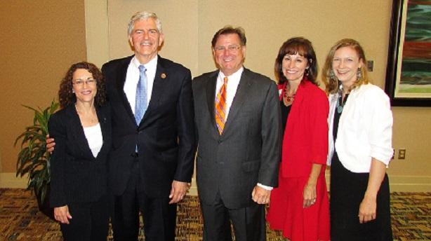 Carol McNally, Congressman Daniel Webster, Doug Sessions, Cindy Brown, Elizabeth Tyrell