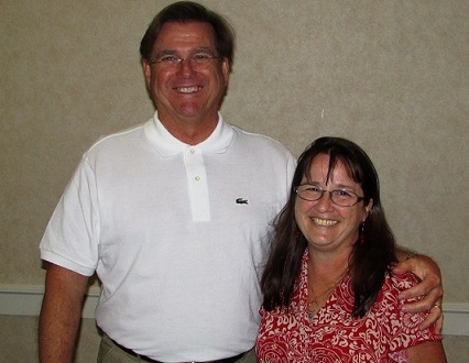 Doug Sesseions and Suzie Godfrey