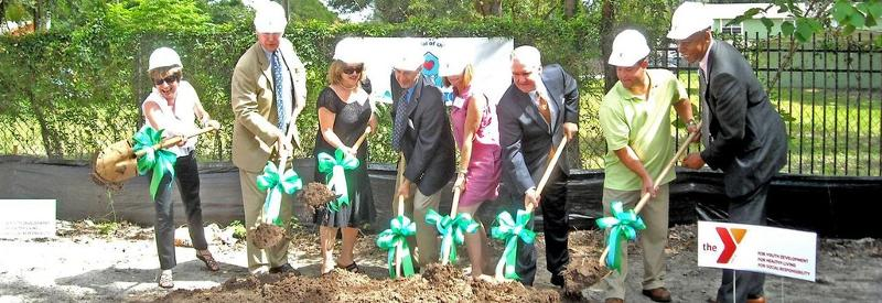 Ground Breaking for Latyla's House