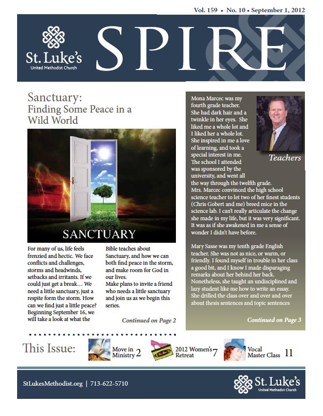 Spire - September 2012