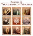 Sangha of Thousands of Buddhas logo