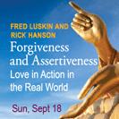 Fred Luskin, Rick Hanson event