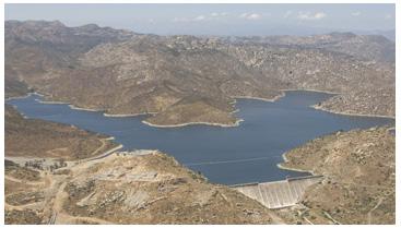 San Vicente Dam and Reservoir