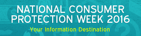 National Consumer Protection Week 2016_ Your Information Destination Logo
