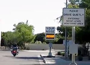 Noise Monitoring Sign