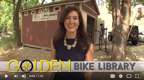 Golden Bike Library Video