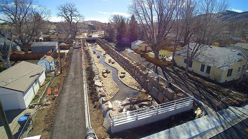 Kenny Run Drainage project