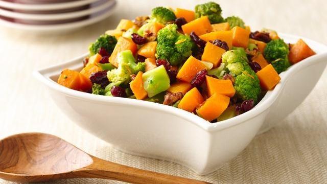 Squash & Broccoli