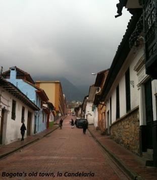 Bogota's old town