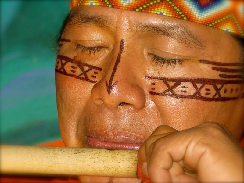 Ecuadorian shaman