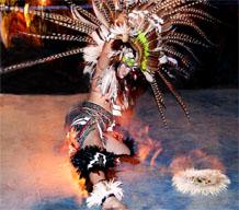 Dancer with headdress