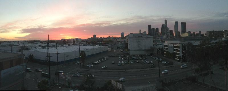 Sunset View from Loft