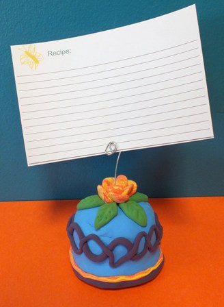 Mother's Day Recipe Holder