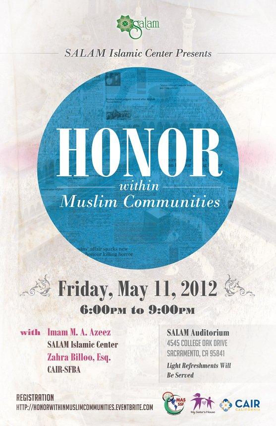 muslim honor flyer