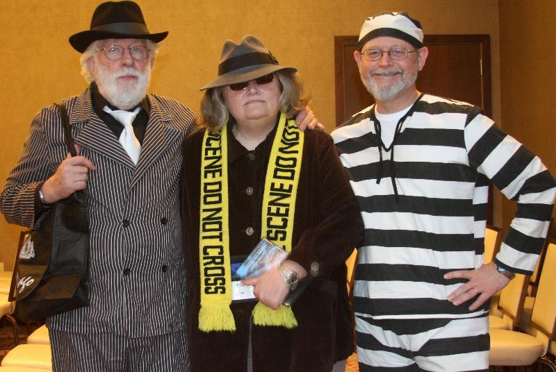 3 costumed