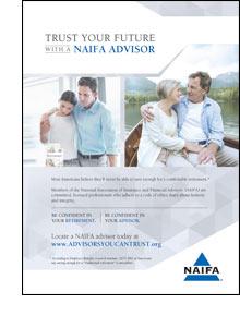Trust A NAIFA Advisor Ad Campaign