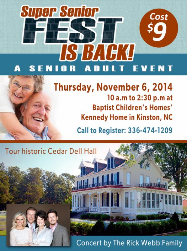 Super Senior Fest is back at Kennedy Home!