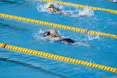 Swimmers in Lanes 2