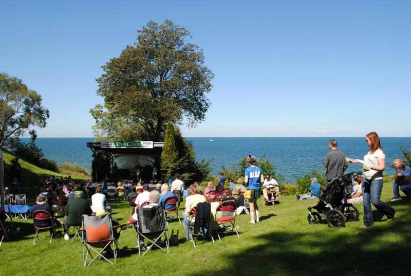The Glen Stage, along Lake Ontario