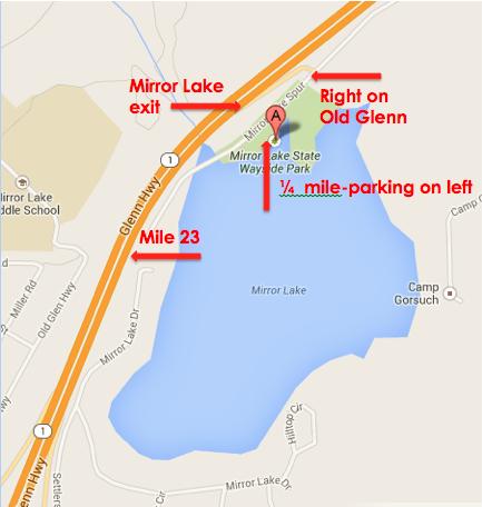 map to mirror lake
