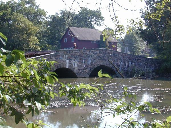 Bridge at Millpond Photo
