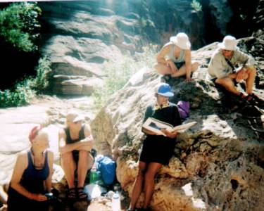Barbara Thomas reads from Writing Down the River, Grand Canyon, 9/11/2001