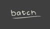 BATCH ice cream logo