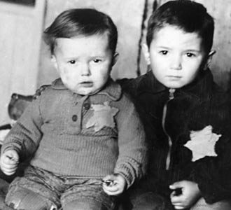 little boys from Holocaust