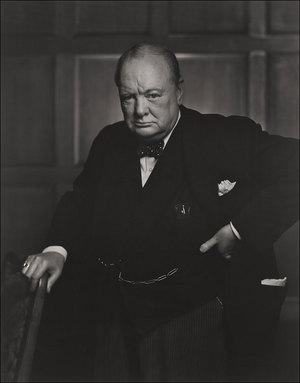 Churchill by Karsh