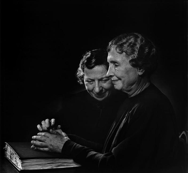 Helen Keller by Yousuf Karsh